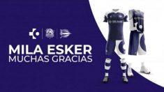 Equipación que lucirán Alavés y Baskonia en sus próximos encuentros.
