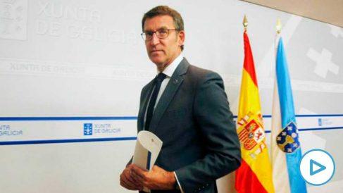 El Presidente de la Xunta de Galicia, Alberto Núñez Feijóo. (Foto: EFE)