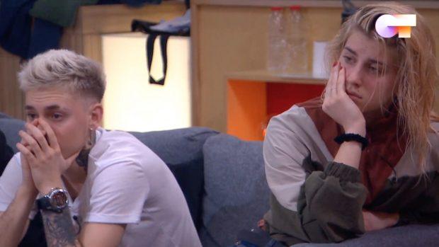 OT 2020: Hugo y Samantha no daban crédito a la cancelación del programa