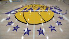 Una imagen del pabellón de entrenamiento de los Lakers. (Getty)