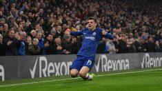 Mount celebra un gol con el Chelsea. (Getty)