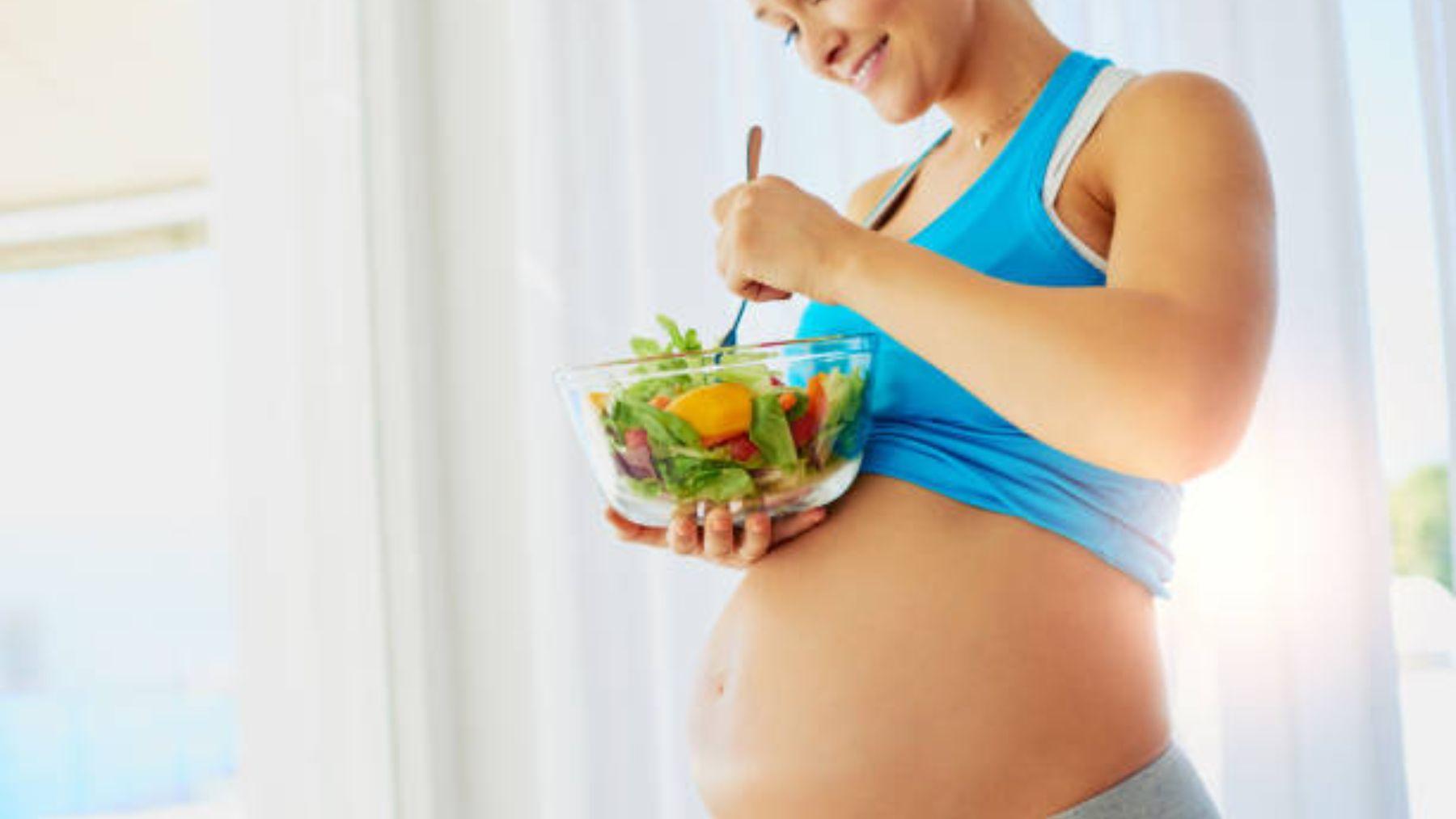 Las pautas para adelgazar correctamente durante el embarazo