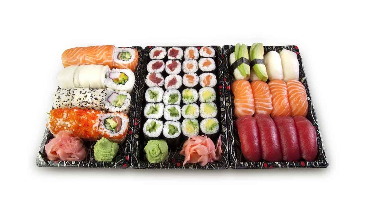 Receta de nigiri sushi con setas
