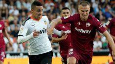 Imagen del partido entre Valencia y Alavés de la última jornada liguera (EFE).
