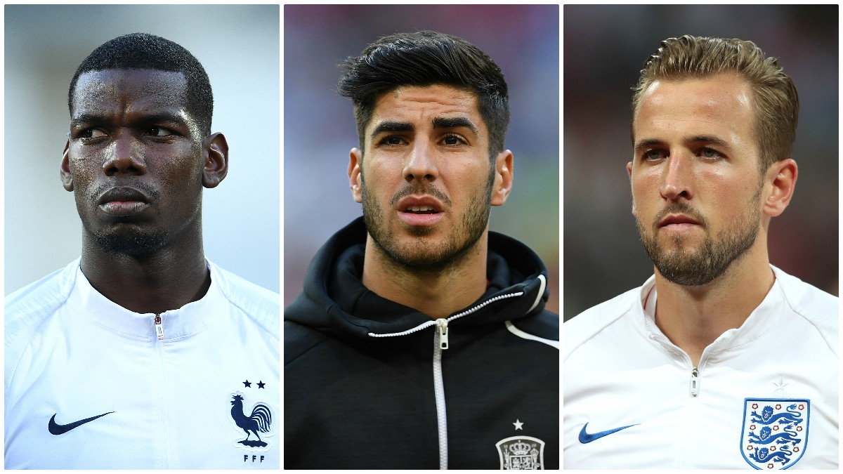 Los futbolistas que 'celebran' el aplazamiento de la Eurocopa. (Getty)