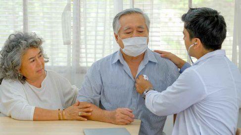 Revisión de coronavirus en una residencias de mayores.