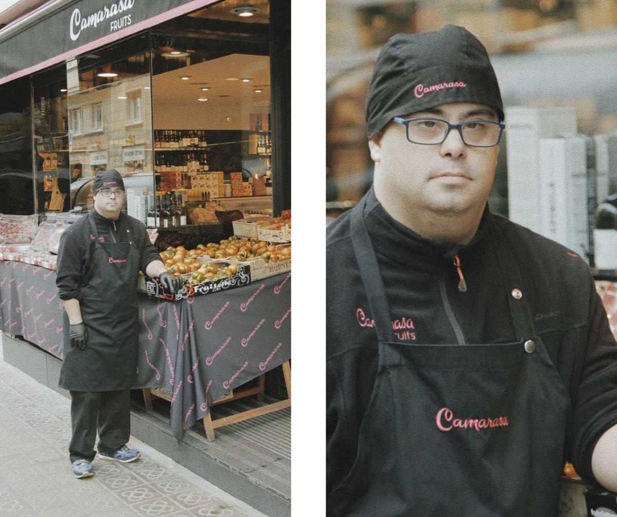 Víctor, el joven con síndrome de Down que ha echado abajo las barreras laborales
