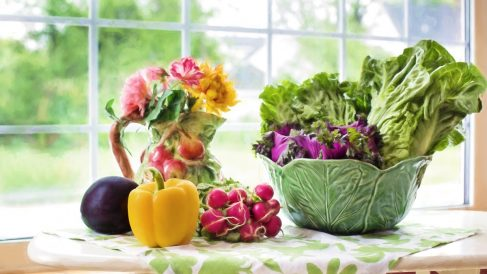 Las verduras pueden contener muchos gérmenes que hay que eliminar antes de cocinarlas