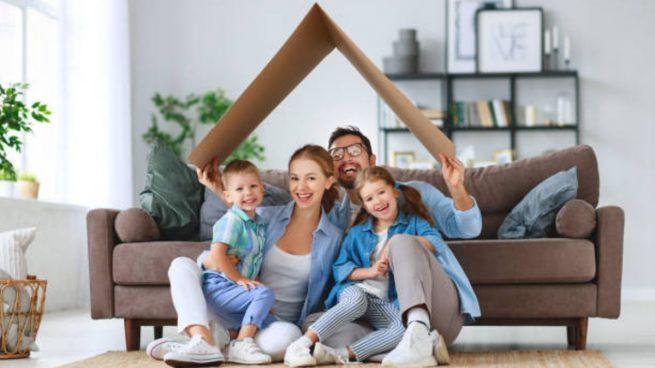felicidad en familia