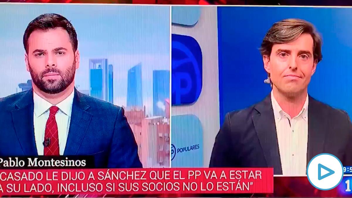 El zasca de Pablo Montesinos a TVE tras cortar el discurso de Pablo Casado para mostrar un tuit de Quim Torra.