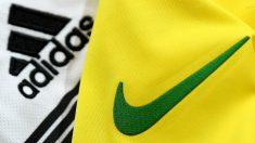 Nike y Adidas (AFP).