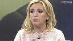 Carmen Borrego, enfadada con Terelu Campos
