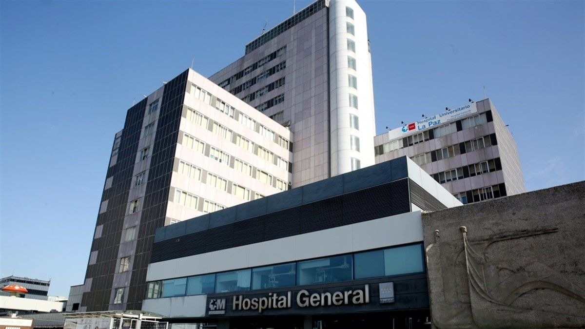 Hospital La Paz de Madrid.