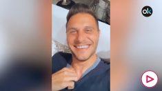 Joaquín, contando chistes en Instagram.