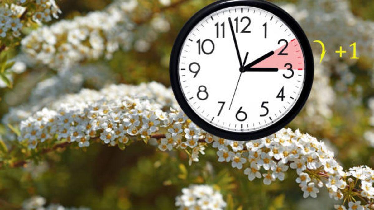 Cuándo es el cambio de hora hacia el horario de verano