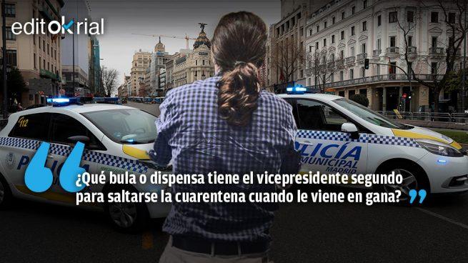 Pablo Iglesias es un peligro público