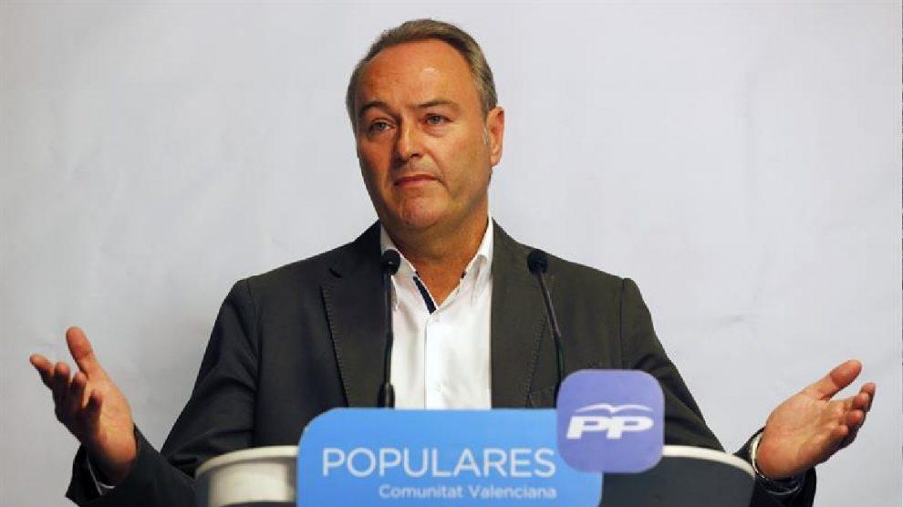 El ex presidente de la Comunidad Valenciana, Alberto Fabra