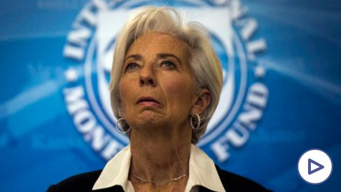Christine Lagarde, presidenta del Fondo Monetario Internacional.(Foto: AFP)