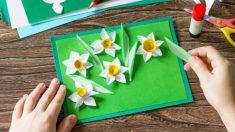 Las mejores manualidades infantiles que podemos hacer para recibir la primavera