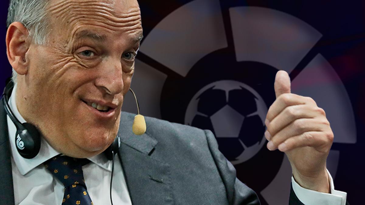 Tebas dice que la salida de Cristiano de la Liga no se notó.