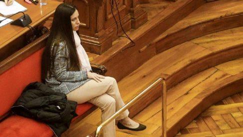 Rosa Peral durante el juicio del crimen de la Guardia Urbana. Foto: EFE