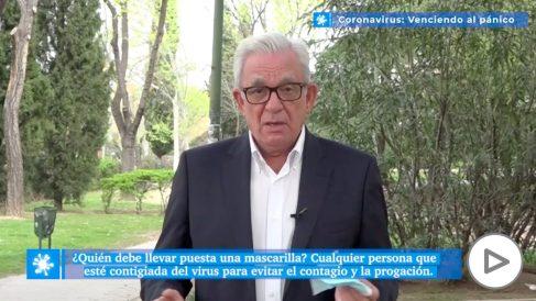 Jesús Sánchez Martos: «¿Quién debe llevar mascarilla para evitar el contagio del coronavirus?»