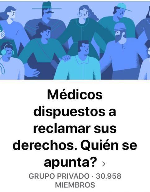Médicos y enfermeros organizan ya una huelga para cuando acabe la crisis del coronavirus