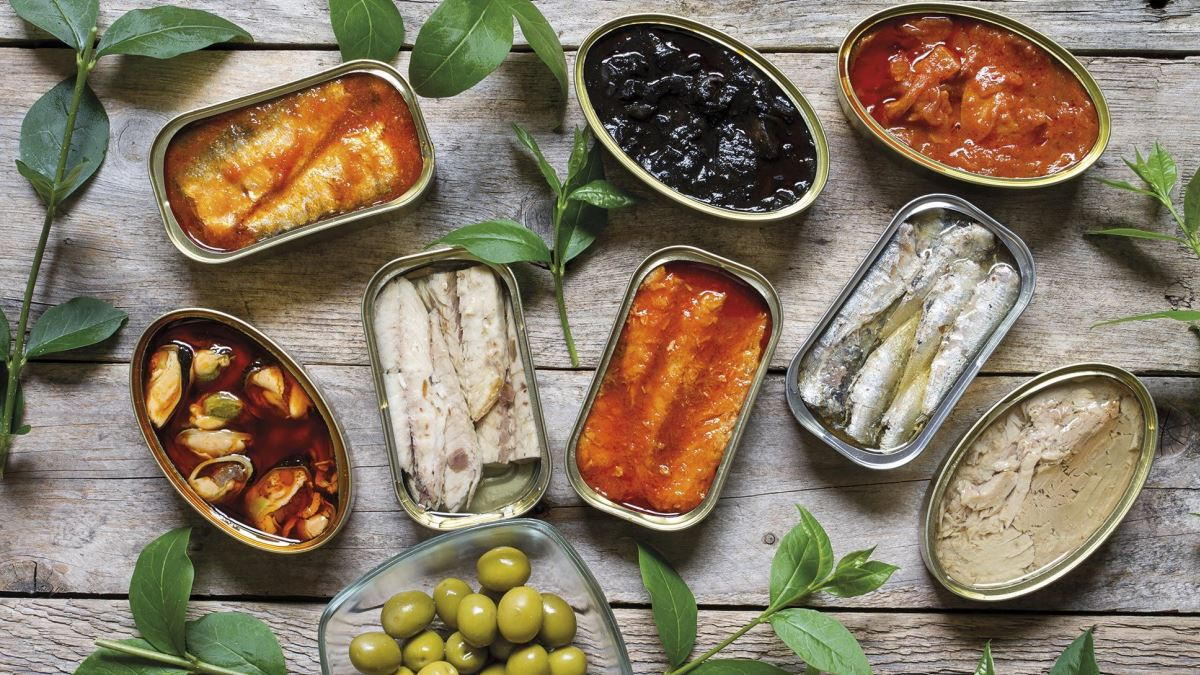 Con comida de lata o de frasco se pueden hacer platos muy interesantes