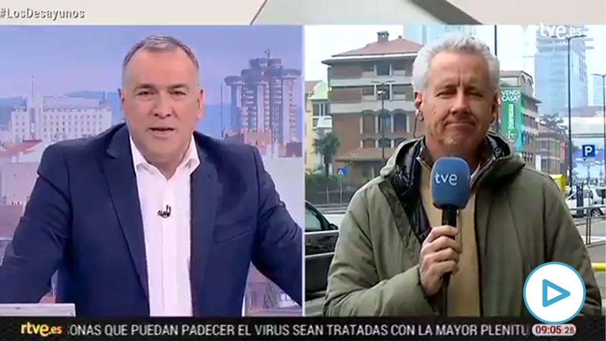 Lorenzo Milán sobre el coronavirus en una conexión para TVE: «Es una gripe con baja mortalidad pero se extiende más el alarmismo».