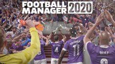 Portada del Football Manager 2020.