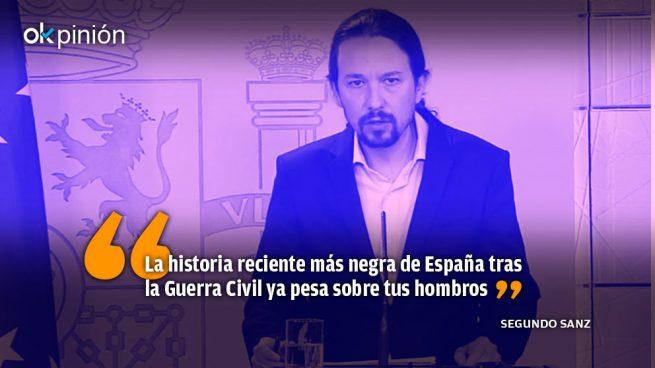 En tu conciencia va, Pablo Iglesias