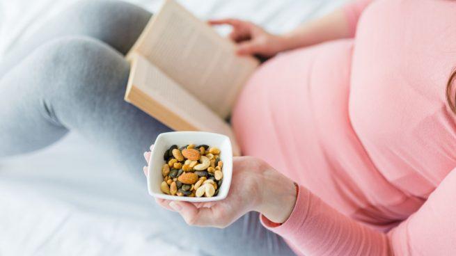 frutos secos durante el embarazo