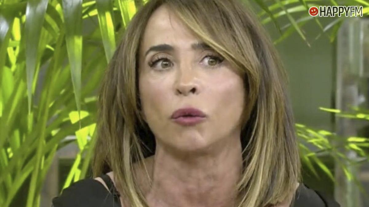 María Patiño cuenta este percance con un policía