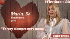 Marta, en First Dates