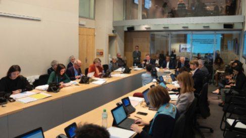 Reunión del panel de expertos en coronavirus de la OMS.