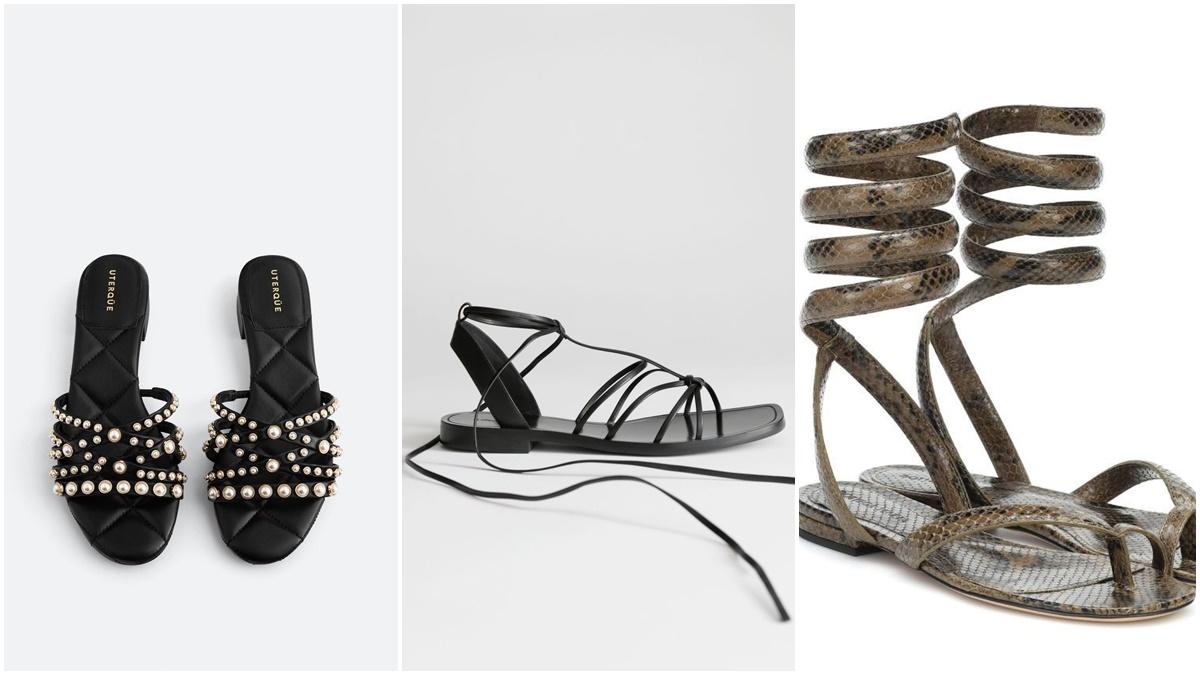 Las sandalias son un básico en tu zapatera cuando llega el buen tiempo