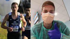 Edoardo Melloni, atleta italiano que ha superado el coronavirus. (Facebook)