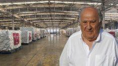 Amancio Ortega y las cajas de mascarillas contra el coronavirus.