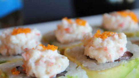 Receta de Arroz thai con salmón