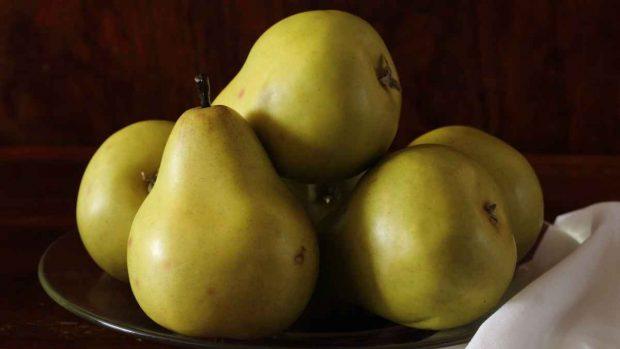 Dulce de pera con coco y semillas