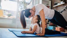 Ejercicios fáciles de yoga que podemos hacer con los niños en casa