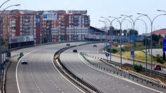 Carreteras andaluzas durante la cuarentena.