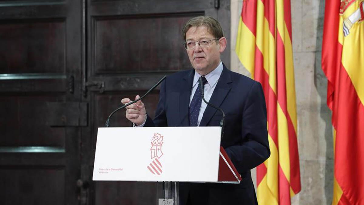 El presidente de la Comunidad Valenciana, Ximo Puig.