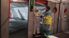 Interior de Ifema durante la crisis del coronavirus. (Foto: Comunidad de Madrid)
