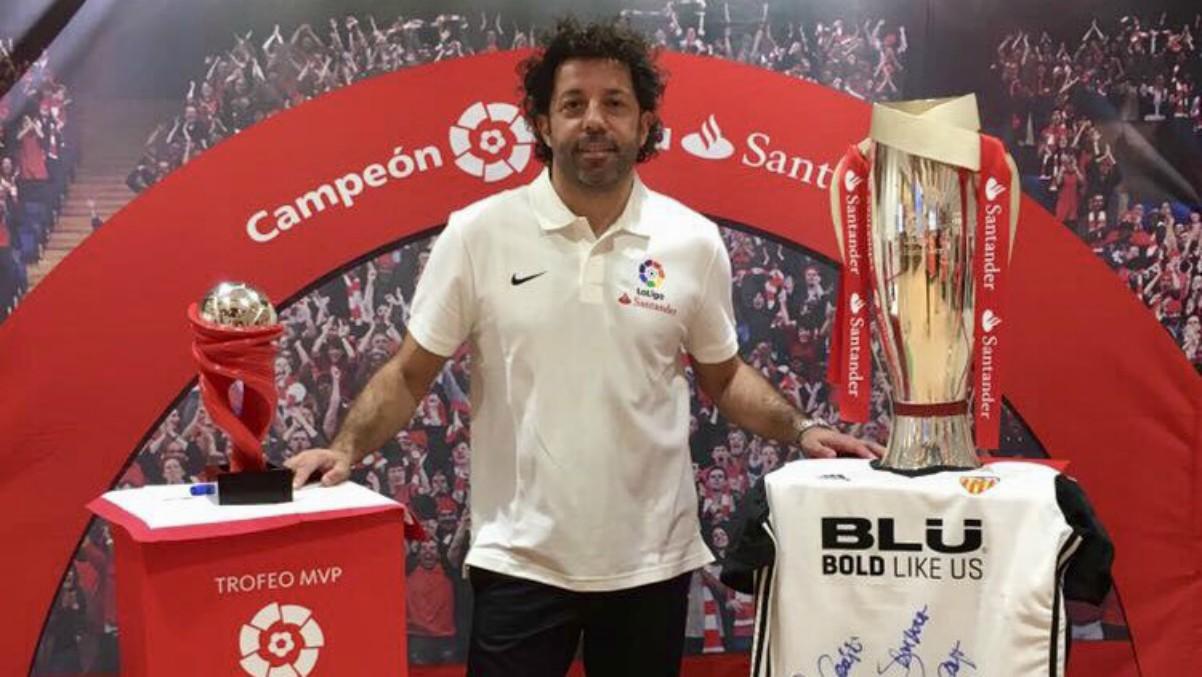 Iván Campo, en un acto de la Liga. (@ivan_campo)