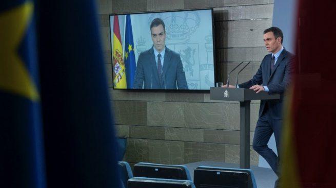 Pedro Sánchez en La Moncloa. (Foto: Moncloa)
