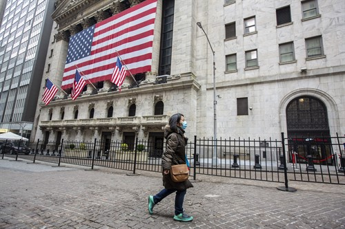 Wall Street en Nueva York