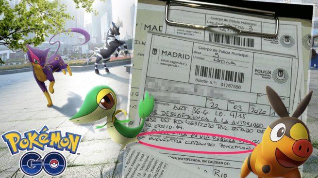 Multado un hombre de 77 años por saltarse el estado de alarma para «cazar pokemons»