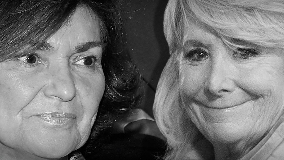 Carmen Calvo y Esperanza Aguirre