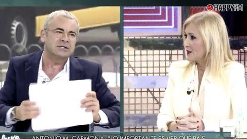 Jorge Javier Vázquez y Cristina Cifuentes